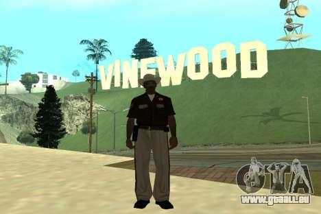 Black Police All für GTA San Andreas siebten Screenshot