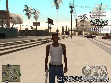 C-HUD Laden pour GTA San Andreas