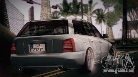 Audi S4 Avant für GTA San Andreas linke Ansicht
