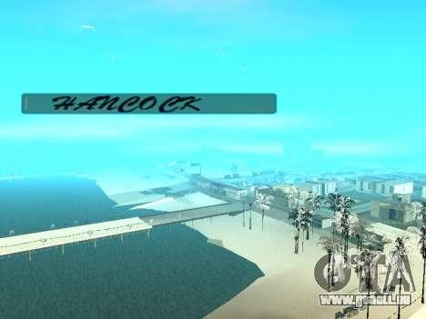 SampGUI Hancock pour GTA San Andreas deuxième écran