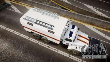 Ural 4320 MES für GTA 4 rechte Ansicht