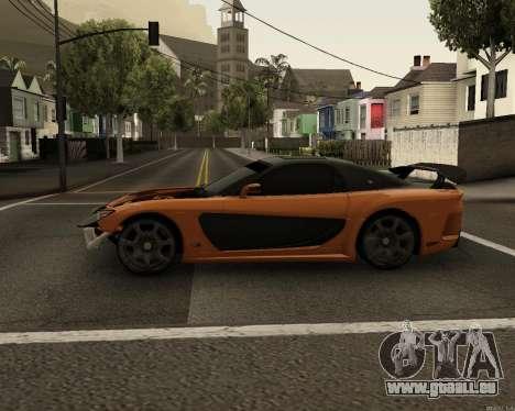 Mazda RX-7 VeilSide Drift pour GTA San Andreas laissé vue