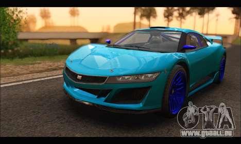 Dinka Jester Racecar (GTA V) (SA Mobile) für GTA San Andreas