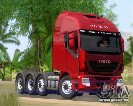 Iveco Stralis HiWay 8x4 pour GTA San Andreas