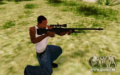 AWP L96A1 (Dodgers) für GTA San Andreas dritten Screenshot
