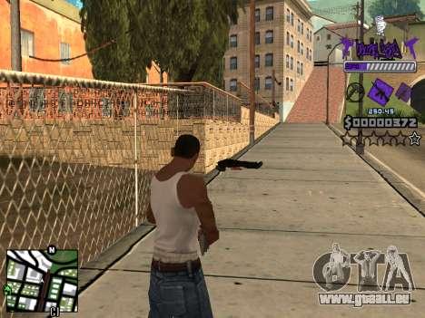 C-HUD Ballas pour GTA San Andreas