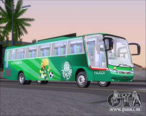 Busscar Vissta Buss LO Palmeiras pour GTA San Andreas sur la vue arrière gauche