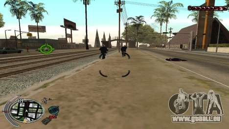 С-la PALETTE de la Terreur pour GTA San Andreas