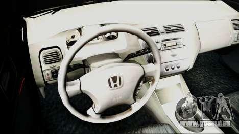 Honda Civic 2005 VTEC für GTA San Andreas rechten Ansicht