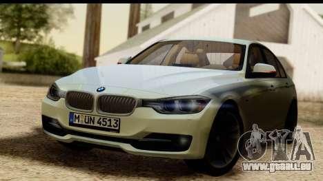 BMW 335i E92 2012 pour GTA San Andreas