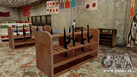 Les modèles 3D des armes dans l'Ammu-nation pour GTA San Andreas neuvième écran