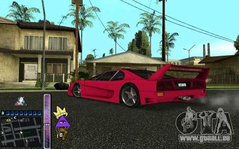 C-HUD Lite SWAG pour GTA San Andreas cinquième écran