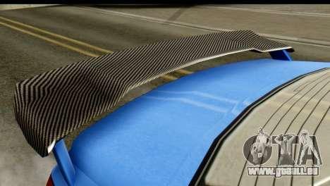 GTA 5 Benefactor Schwartzer IVF pour GTA San Andreas sur la vue arrière gauche