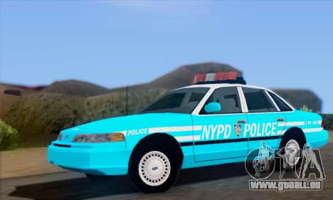 Ford Crown Victoria NYPD Blue pour GTA San Andreas