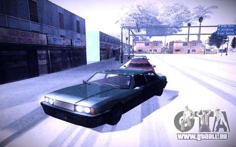 Sunny 2 ENBSeries pour GTA San Andreas troisième écran
