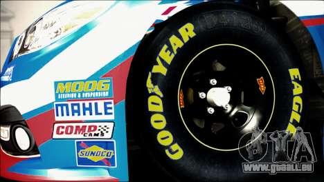 Chevrolet SS NASCAR Sprint Cup Series 2013-2014 pour GTA San Andreas sur la vue arrière gauche