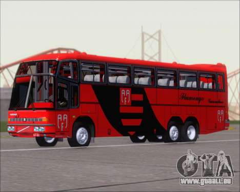 Marcopolo Paradiso G4 Flamengo Guarulhos für GTA San Andreas linke Ansicht