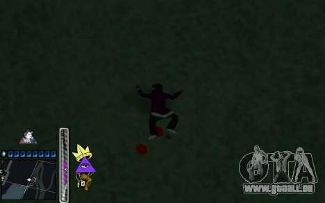 C-HUD Lite SWAG pour GTA San Andreas quatrième écran