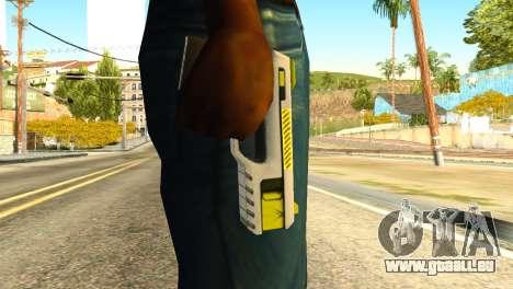 Stun Gun from GTA 5 pour GTA San Andreas troisième écran