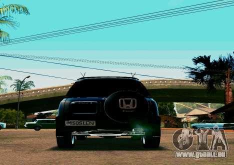 Honda CR-V pour GTA San Andreas vue de droite