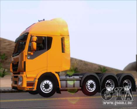 Iveco Stralis HiWay 8x4 für GTA San Andreas Innenansicht