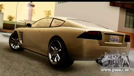GTA 5 Ocelot F620 v2 für GTA San Andreas linke Ansicht