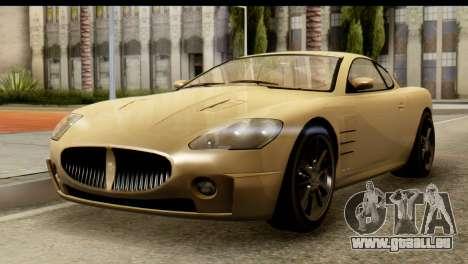 GTA 5 Ocelot F620 v2 für GTA San Andreas