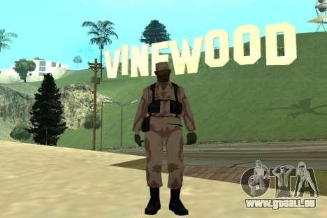 Black Police All für GTA San Andreas