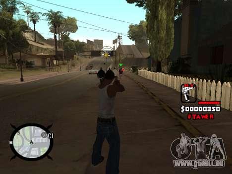 HUD by LokoMoko pour GTA San Andreas deuxième écran