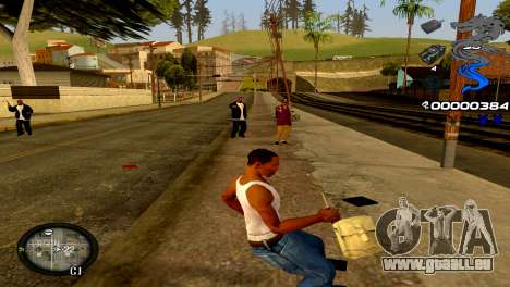 C-HUD Dragon für GTA San Andreas her Screenshot