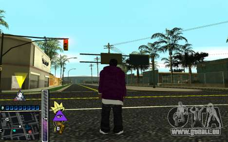 C-HUD Lite SWAG pour GTA San Andreas