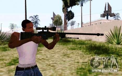 AWP L96A1 (Dodgers) für GTA San Andreas