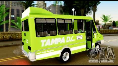 Iveco Minibus pour GTA San Andreas laissé vue