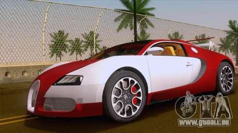 Bugatti Veyron Grand Sport Sang Bleu 2008 für GTA San Andreas