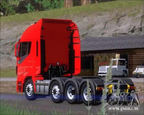 Iveco Stralis HiWay 8x4 für GTA San Andreas Räder