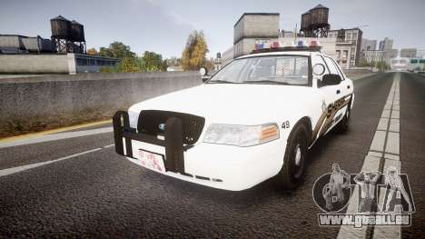 Ford Crown Victoria LCSO [ELS] Vision pour GTA 4
