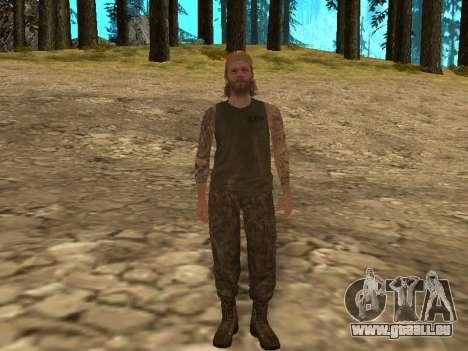 Cletus Ewing de GTA V pour GTA San Andreas