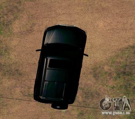 Honda CR-V pour GTA San Andreas vue intérieure