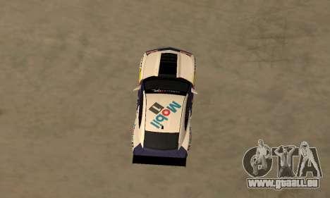Chevrolet Camaro ZL1 RedBull pour GTA San Andreas sur la vue arrière gauche