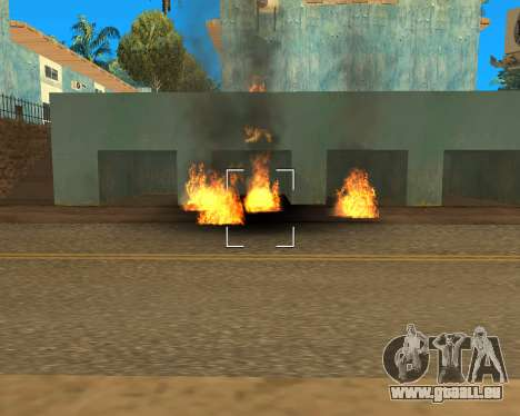 Effect Mod 2014 By Sombo pour GTA San Andreas huitième écran