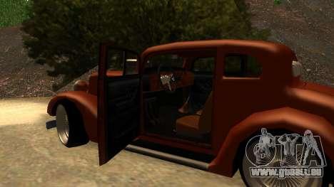 New Hustler für GTA San Andreas rechten Ansicht