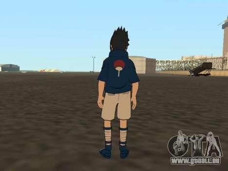 Sasuke Uchiha pour GTA San Andreas troisième écran