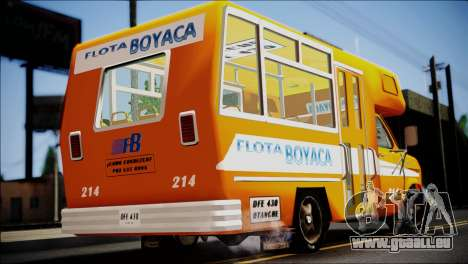 Ford E-150 Bus für GTA San Andreas linke Ansicht