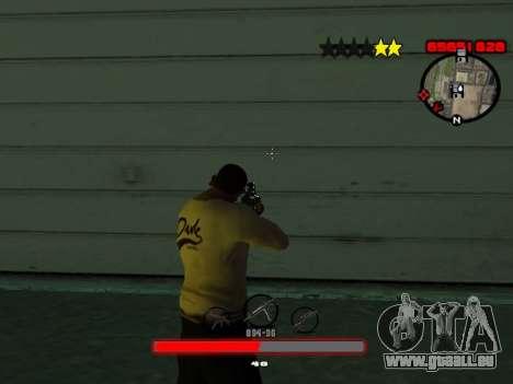C-HUD by SantiManti pour GTA San Andreas troisième écran