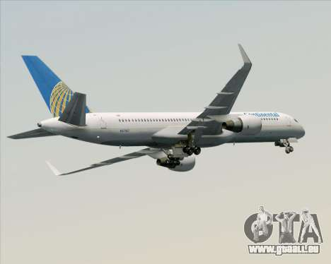 Boeing 757-200 Continental Airlines pour GTA San Andreas moteur