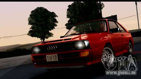 Audi Sport Quattro B2 (Typ 85Q) 1983 [IVF] pour GTA San Andreas