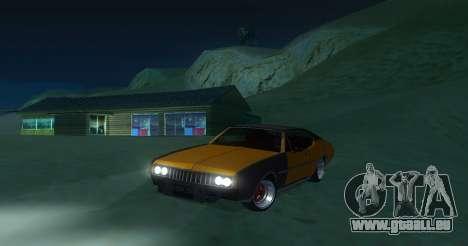 Clover JDM pour GTA San Andreas laissé vue