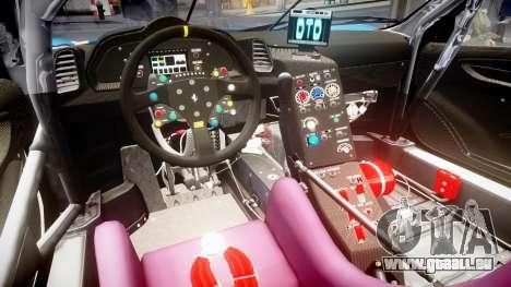 Ferrari 458 GT2 Stevenson Racing pour GTA 4 est une vue de l'intérieur