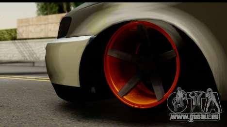 Toyota Corolla ENS Tuning pour GTA San Andreas sur la vue arrière gauche