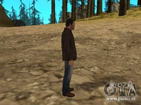 Michael von GTA 5 mit einem neuen Anzug für GTA San Andreas her Screenshot